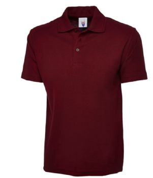 Personalise Burgundy Embroidered Polo Shirt 4XL SALE